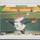 Dennis Eckersley Baseball Trading Card 1993 Topps #155 Athletics