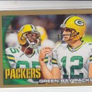 Aaron Rodgers Gold Parallel 2010 Topps #378 Packers TC 0493/2010