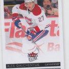 Alex Galchenyuk Hockey Trading Card 2014-15 Upper Deck Fleer Ultra #101