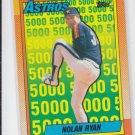 Nolan Ryan The Astros Years 1990 Topps #4 Astros