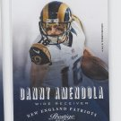 Danny Amendola Football Trading Card 2013 Panini Prestige #114 Patriots