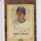 Miguel Cabrera Baseball Trading Card 2007 UD Artifacts #44 Marlins Tigers