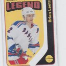 Brian Leetch Marquee Legends Retro SP 2014-15 Upper Deck OPC #562 Rangers