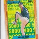 Nolan Ryan The Astros Years 1990 Topps #4 Astros *ABC