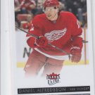 Daniel Alfredsson Hockey Card 2014-15 Upper Deck Fleer Ultra #66 Red Wings