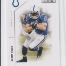 Austin Collie Football Card Lot of (2) 2011 Panini Rookies & Stars #63 Colts