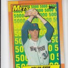 Nolan Ryan The Mets Years 1990 Topps #2 Mets *ABC