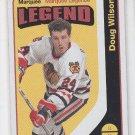 Doug Wilson Marquee Legend Retro SP 2014-15 Upper Deck OPC #594 Blackhawks