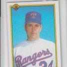 Nolan Ryan Baseball Trading Card 1990 Bowman #486 Rangers