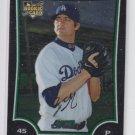 Brent Leach Rookie Card 2009 Bowman Chrome Draft #BDP43  Dodgers