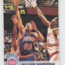 Allan Houston Rookie Card 1993-94 Skybox #332 Pistons QTY