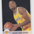 Nick Van Exel Rookie Card 1993-94 Skybox #356 Lakers QTY