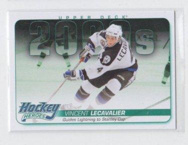 Vincent Lecavailer Hockey Heroes Insert 2014-15 Upper Deck Series 1 #HH71