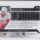 Nicklas Lidstrom Hockey Trading Card 2012-13 Upper Deck SP Authentic Red Wings