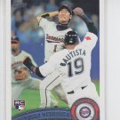 Tsuyoshi Nishioka RC Trading Card Single 2012 Topps Series 2 #501 Twins