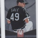 Chris Sale Elite Insert 2014 Donruss #10 White Sox