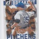 Dillon Gee Breakout Pitchers 2014 Donruss #30 Mets