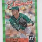 Sonny Gray RC Dominator 2014 Donruss Elite #25B Athletics 422/999