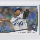 Yordano Ventura RC Trading Card Single 2014 Topps Mini Exclusives #265 Royals