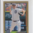 Max Scherzer Gold SP 2014 Topps Mini Exclusives #297 Tigers 51/63