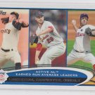 Tim Lincecum Chris Carpenter Roy Oswalt Brandon Webb 2012 Topps Series 1 #92