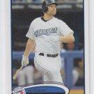 Adam Lind Baseball Trading Card 2012 Topps #245 Blue Jays QTY