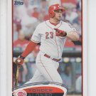 Yonder Alonso Baseball Trading Card Single 2012 Topps Series 1 19 Reds