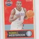 Russell Westbrook Trading Card Single 2011-12 Panini Past & Present #72 Thunder