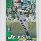 Joe McKnight RC Football Trading Card Single 2010 Topps #147 Jets