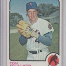 Tom Seaver Trading Card Single 1973 Topps #350 Mets EX+ Centered
