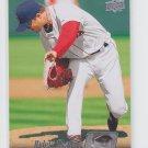 Hideki Okajima Trading Card Single 2010 Upper Deck #101 Red Sox