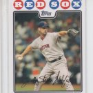 Tim Wakefield Trading Card Single 2008 Topps #295 Red Sox