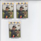 Nyjer Morgan RC Trading Card Lot of (3) 2008 Topps #328 Pirates