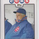 Lou Pinella Gold Parallel SP 2008 Topps #329 Cubs MGR