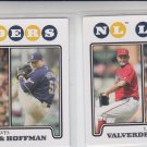 Jose Valverde Francisco Cordero Trevor Hoffman LL Lot of (2) 2008 Topps #323