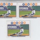 Curtis Granderson Trading Card Lot of (3) 2008 Topps #330 Tigers