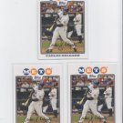 Carlos Delgado Trading Card Lot of (3) 2008 Topps #305 Mets