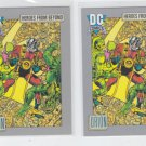 Orion Trading Card Lot of (2) 1991 Impel DC Comics #124 *ED
