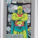 Martian Manhunter Trading Card 1991 Impel DC Comics #121 *ED