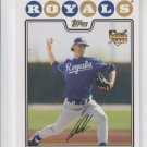 Luke Hochevar Gold Foil Parallel SP RC 2008 Topps 149 Royals