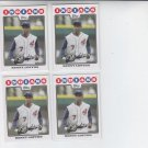 Kenny Lofton Lot of (4) 2008 Topps #93 Indians