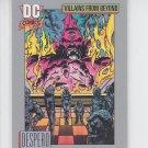 Despero Trading Card Single 1991 Impel DC Comics #130 *ED