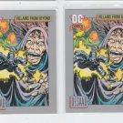 DeSaad Trading Card Lot of (2) 1991 Impel DC Comics #129 *ED