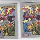 Steppenwolf Trading Card Lot (2) 1991 Impel DC Comics #140 *ED