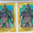 Slayer Trading Card Lot of (2) 1993 Skybox Ultraverse #R5 *ED
