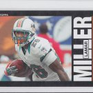 Lamar Miller 2013 Topps Archives #56 Dolphins