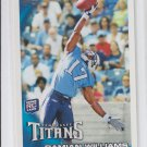 Damian Williams RC 2010 Topps #72 Titans