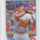 Michael Young 2013 Topps Series 1 #320 Rangers