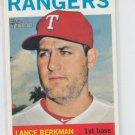 Lance Berkman 2013 Topps Heritage #317 Rangers