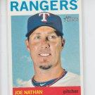 Joe Nathan Baseball Trading Card 2013 Topps Heritage #238 Rangers